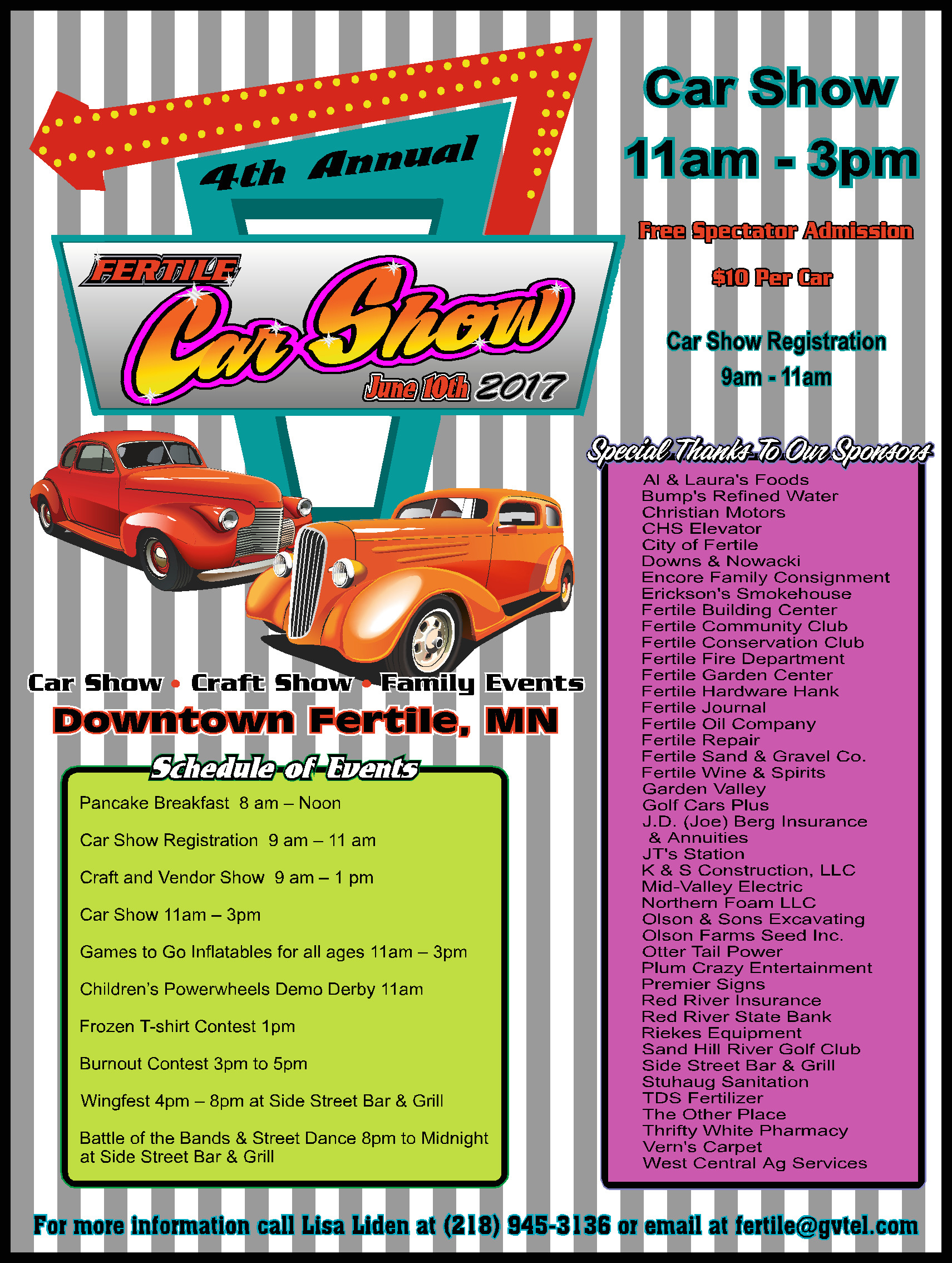 Annual Car Show - Car show mn